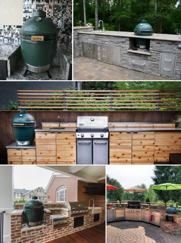 Outdoor Charcoal Grills By Big Green Egg 6 Outdoor Kitchen Essentials