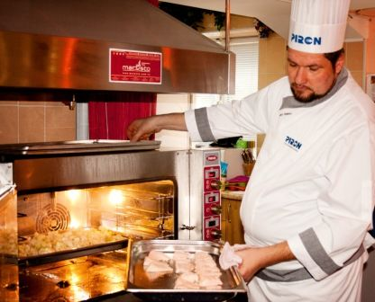 Chef Marco Zampiero - Piron Professional Ovens Master Class, Kiev (Ukraine), January 2014