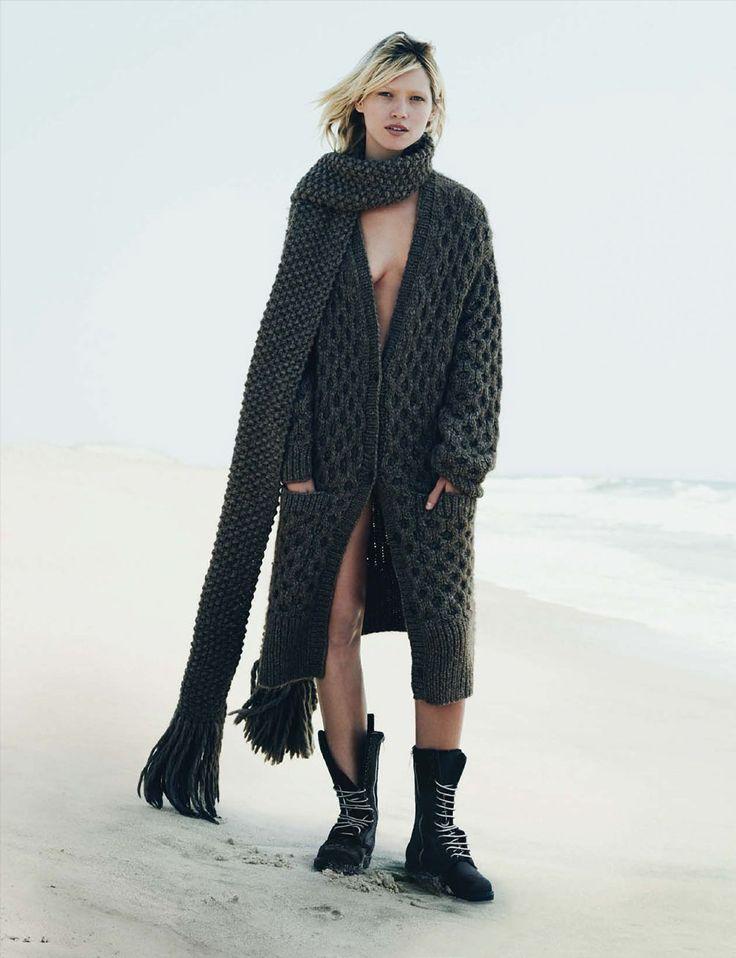 visual optimism; fashion editorials, shows, campaigns & more!: hana jirickova by nick dorey for vogue germany november 2014