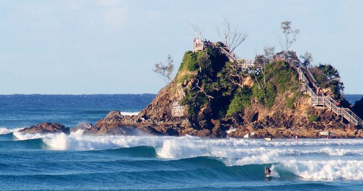 """""""The Pass"""" at Byron Bay. Click the Wannasurf link for my Blog """"Summertime"""""""