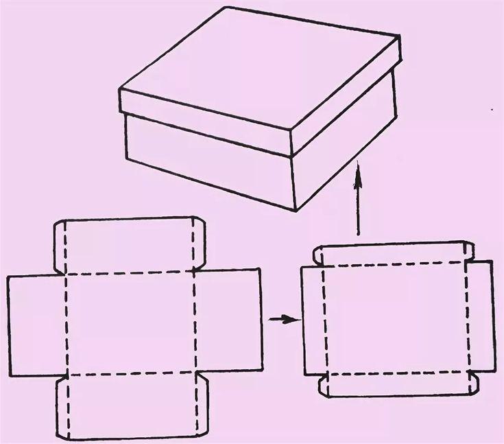 картинки разверток коробок лотосов рядом