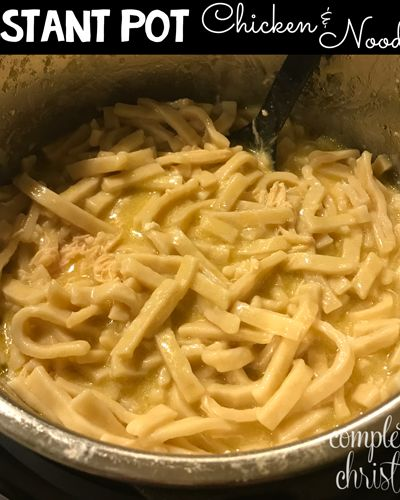 """search results for """"instant pot chicken and noodles"""
