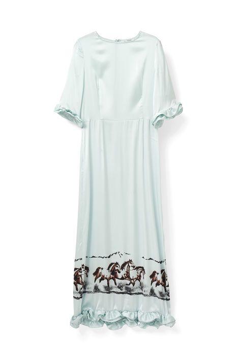Jolly Silk Dress   GANNI
