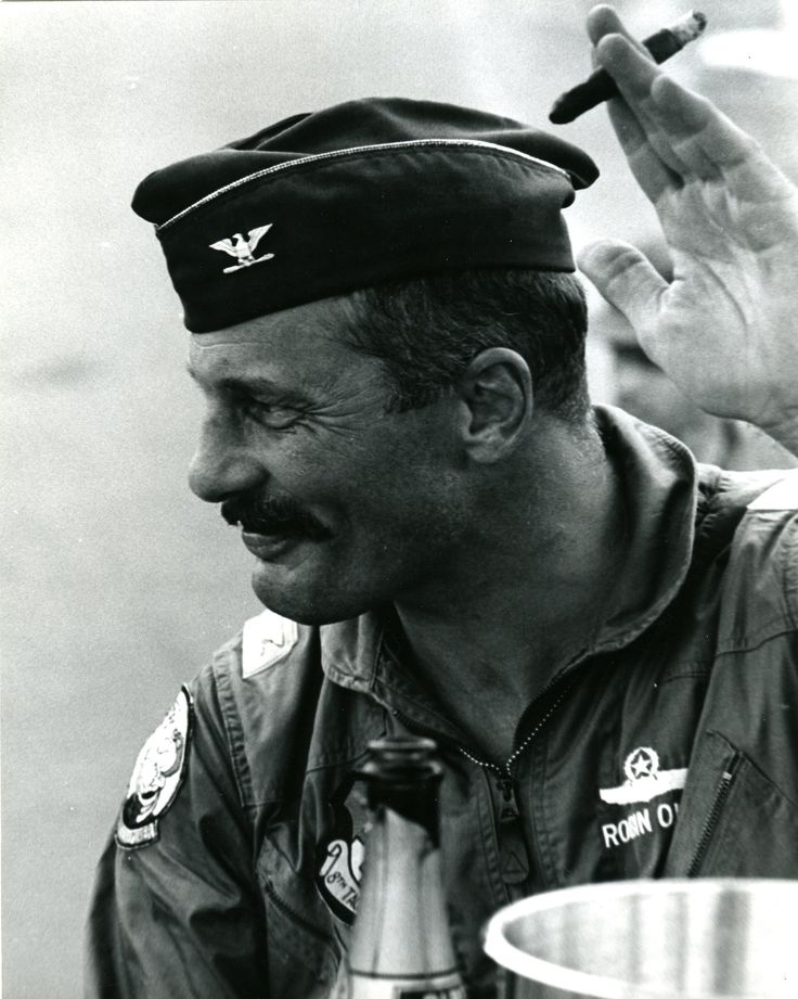 Probably the coolest fighter pilot that ever lived. Col. Robin Olds