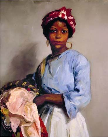 The Laundress, Robert Henri 1916 http://www.phxart.org/slideshow/index.html#/COL/72157606487766330/2722846187/