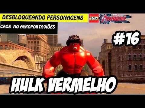 LEGO Marvel Vingadores #16 - Hulk Vermelho (Português Pt Br)HD-1080p