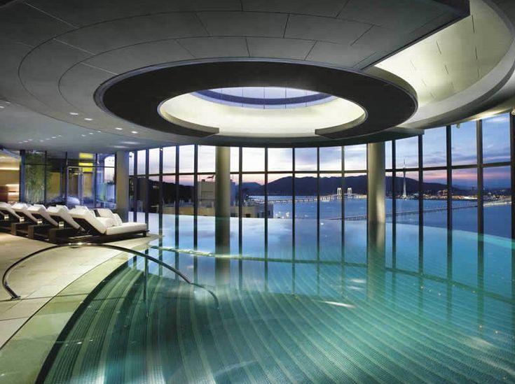 Die besten 25+ Hallenbad baden Ideen auf Pinterest - Spa Und Wellness Zentren Kreative Architektur