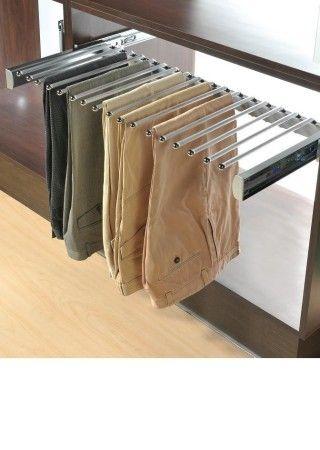closet pants rack