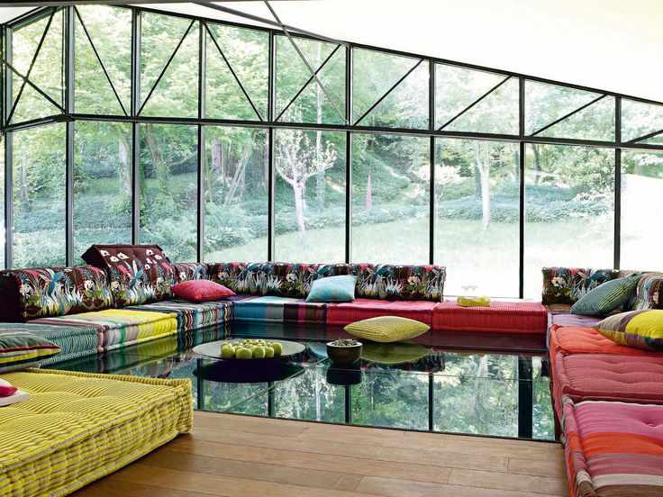 ソファ MAH JONG MISSONI HOME Les Contemporains コレクション by ROCHE BOBOIS | デザイン: Hans Hopfer