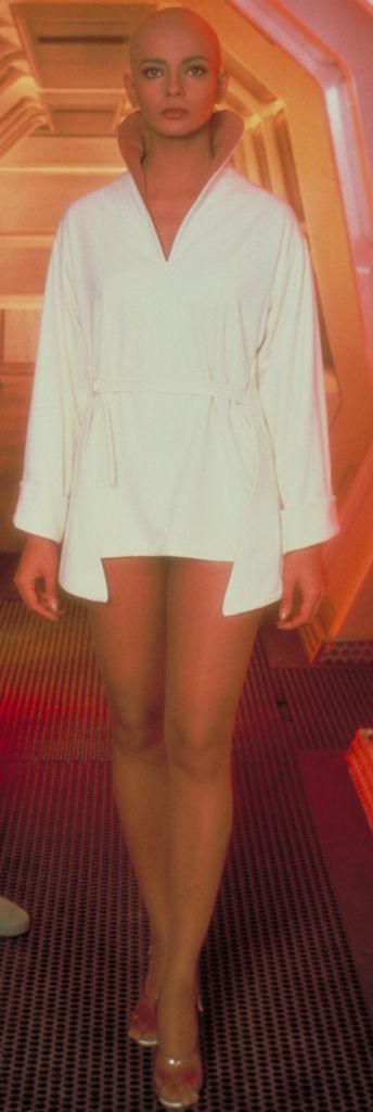 """Women of """"Star Trek"""" : Ilia played by Persis Khambatta."""
