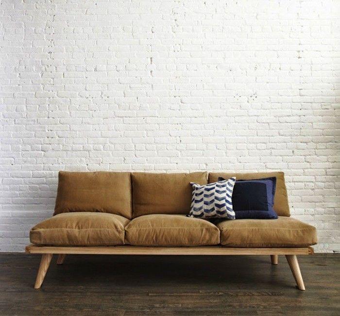 Modelos de sof s de madeira madeira e sof s for Sofa 0 interest