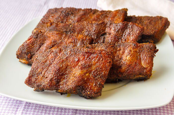 Foolproof Dry Rubbed Oven Ribs - perfect ribs for your Super Bowl party! - Rock Recipes