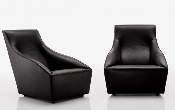 Doda is a welcoming armchair available in two versions, high or low back with a fixed or movable base, to satisfy all    needs. Complementing Doda is the Easy pouf, which combines with it to create a comfortable chaise longue. Doda enriches  with a n...