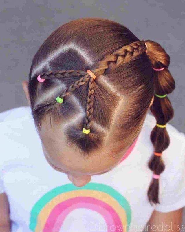 12+ Kit coiffure petite fille inspiration