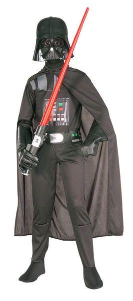 Lasten Naamiaisasu; Darth Vader Deluxe  Lisensoitu Star Wars Darth Vader Deluxe asu. Olkoon voima kanssasi. #naamiaismaailma