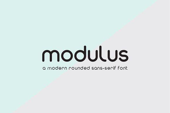 Modulus by Arkitype on @creativemarket