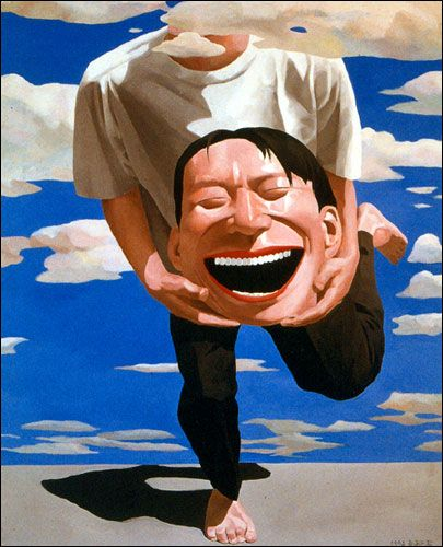 Google Image Result for http://www.artrealization.com/contemporary_chinese_art/artists/yue_minjun/yue_minjun_art_holding_head.jpg