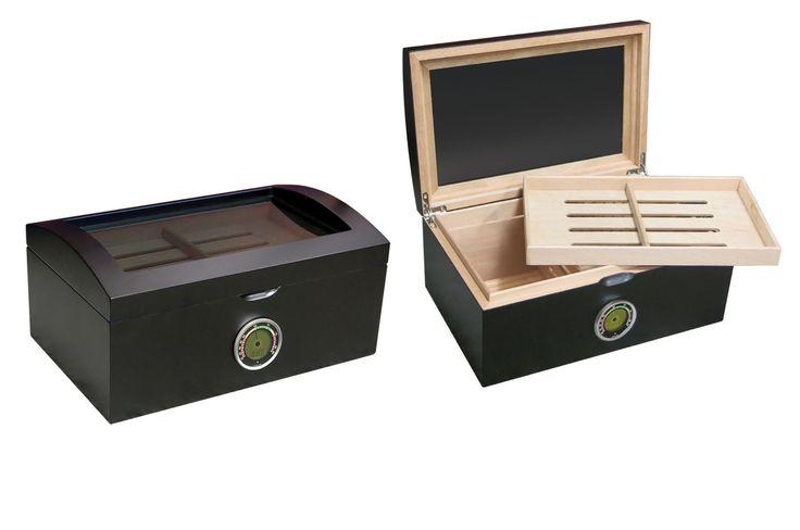 HumidorPros.com - Portofino 100 ct. Desktop Glass Top Cigar Humidor, $139.95 (http://www.humidorpros.com/portofino-100-ct-desktop-glass-top-cigar-humidor/)