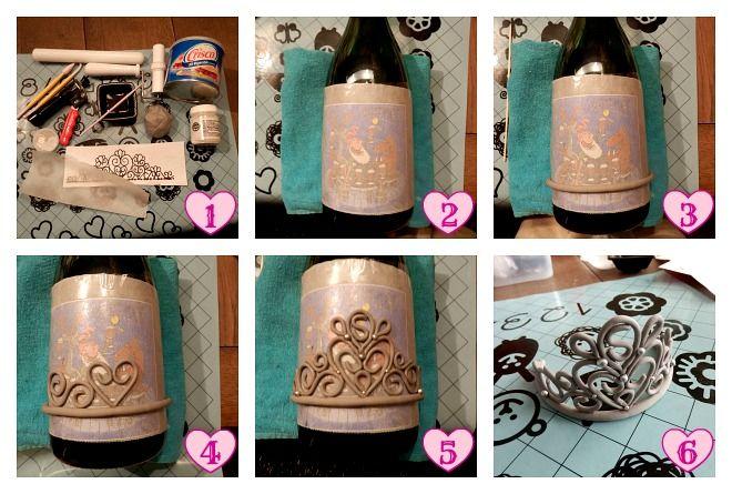 How-to: een tiara van fondant maken.