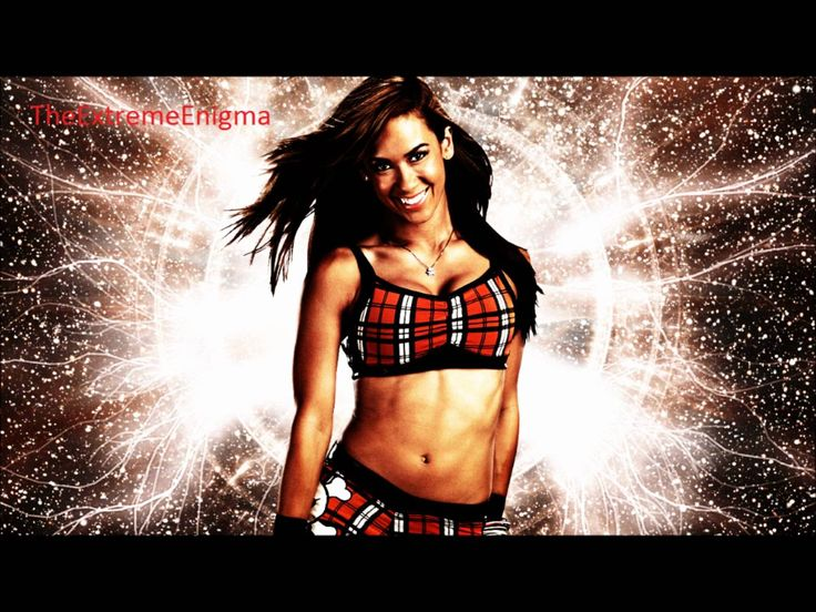 "Aj Lee 4th WWE Theme Song ""Lets Light It Up"" Love this song Aj Lee is my favourite WWE diva (Even though she retired recently)"