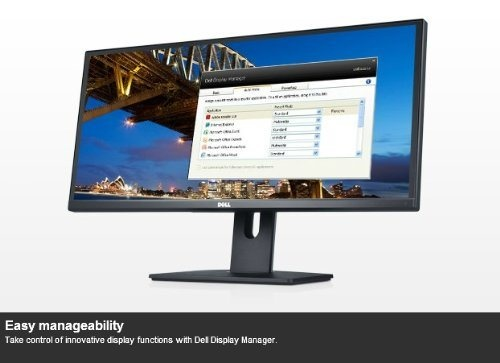 Brand New, and Factory Sealed +++ Dell UltraSharp U2913WM 29-inch Ultra Wide Monitor with 3-Year - 1000:1 (typical) contrast ratio and 2 million: 1 (Dynamic) help to ensure a Seamless Experience while Reviewing Documents or Streaming Online VideoFast Response Time of up to 8 ms (typical) helps Prevent Ghosting in Fast Motion Video - Equipped with 300 cd/m2 (typical) Brightness for Outstanding and Clear Image Display - Offers a Horizontal Viewing Angle of 178° and Vertical Viewing Angle of…