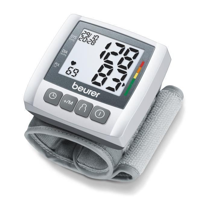 Tensiometre De Poignet Beurer Bc 30 2 X 60 Emplacements De