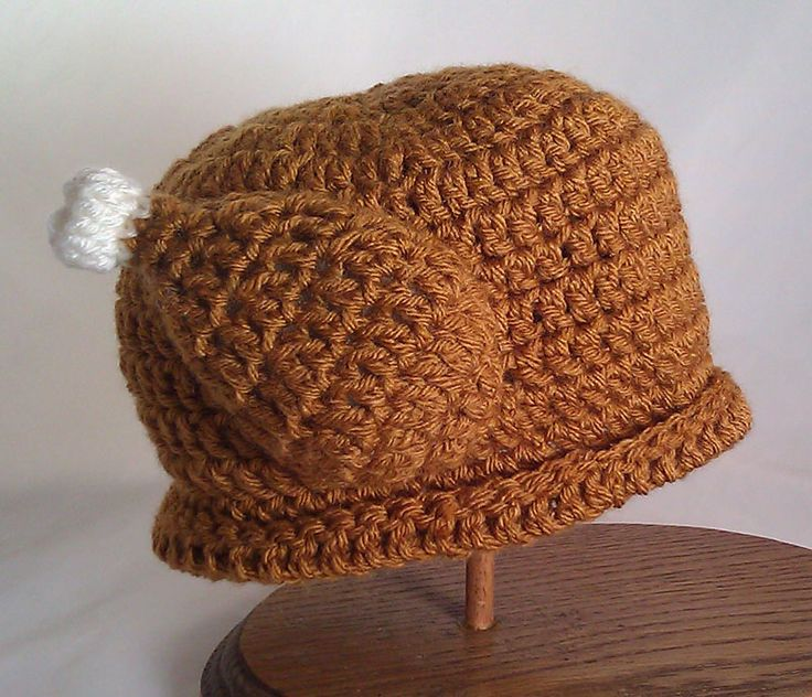 How To Make A Baby Turkey Hat Crochet Pattern