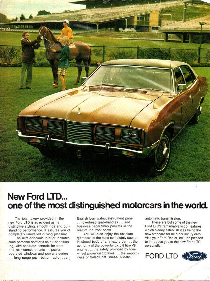 https://flic.kr/p/wXM77Y | 1973 P5 LTD by Ford Aussie Original Magazine Advertisement