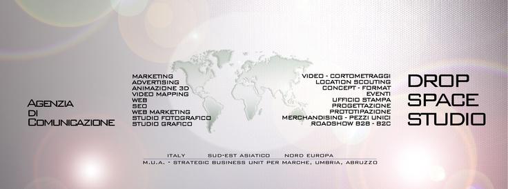 Drop Space Studio - Agenzia di Comunicazione. Italy, North Europe, Asia. Strategic Business Unit dedicata alle regioni: Marche, Umbria, Abruzzo.