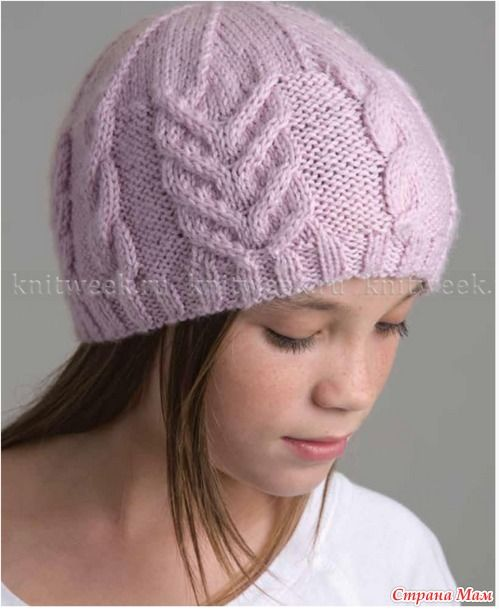 . Облегающая шапка
