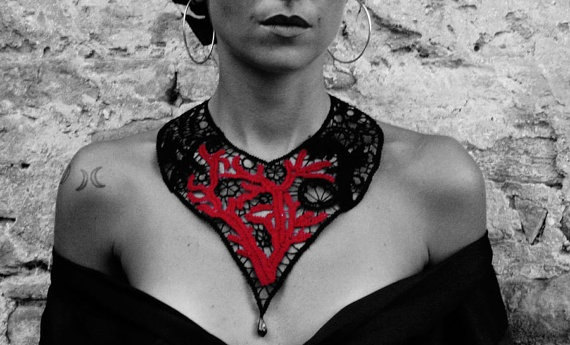 LeFilomile statement necklace