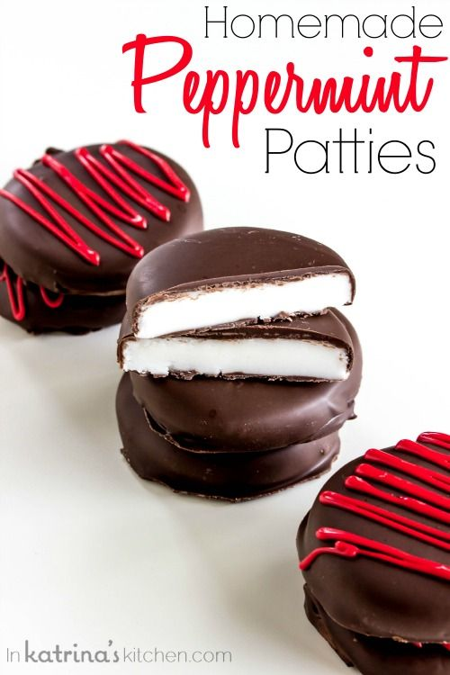 QUICK and EASY Homemade Peppermint Patty Recipe