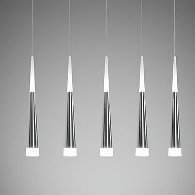 Ecolight®+Pendant+Lights+LED+Modern/Contemporary+Dining+Room/Kitchen/Study+Room/Office/Kids+Room+Metal+–+AUD+$+220.21