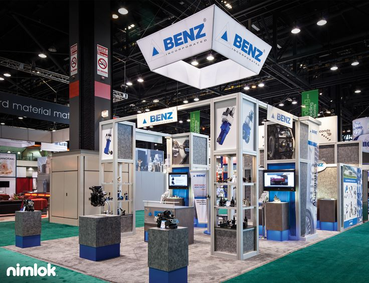 Fabric Exhibition Stand Examples : Integrated technology display kiosks and custom