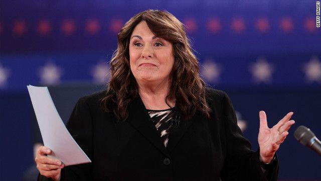 16.10.12: El segundo debate presidencial fue moderado por la periodista de CNN, Candy Crowley.