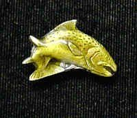 Collector Pin - Trout by Siskiyou. $13.66. This collector's pin is finely detailed and features an Alaska Dog Team emblem.. Collector Pin - Trout