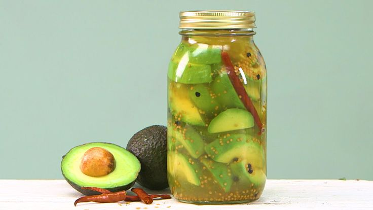 How to Make Avocado Pickles