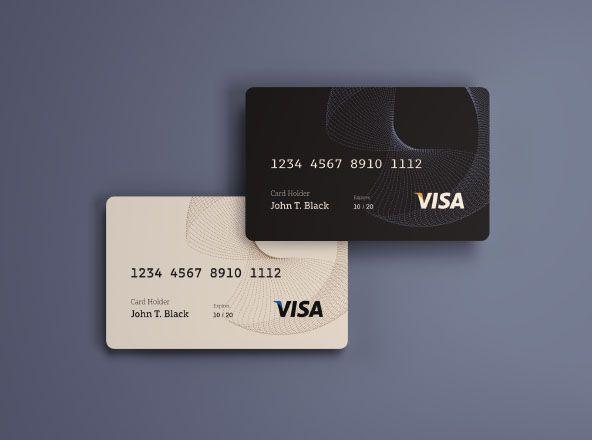 Credit Card Mockup Psd Cvtemplates Credit Card Design Debit Card Design Credit Card Machine