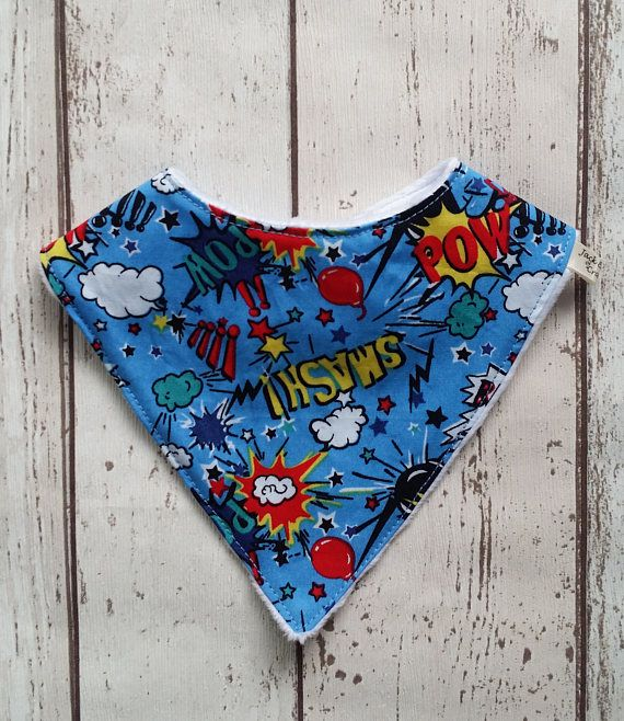 Check out this item in my Etsy shop https://www.etsy.com/uk/listing/511117466/boys-dribble-bib-super-hero-bib-baby