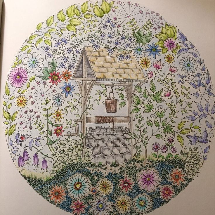 johanna basford secret garden - My Secret Garden Coloring Book