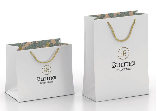 Branding the Burma Emporium by Designer Scott Lambert  Illustrator Andrew Denholm