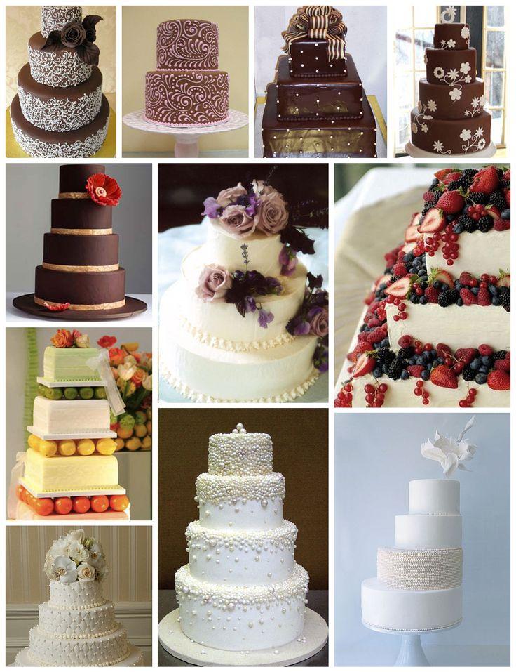 Ideas para tortas de casamiento