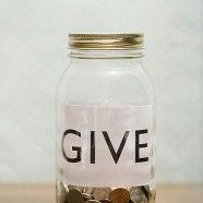 Give, and it will come back to you!  Good measure, pressed down, shaken together, and running over!