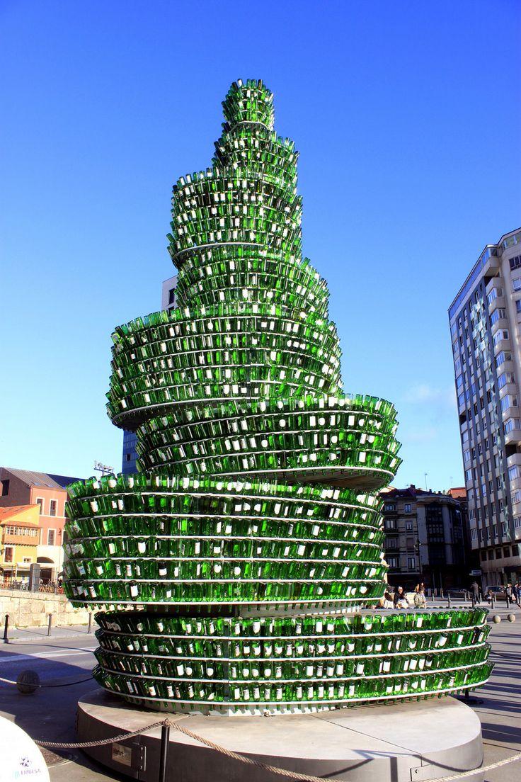 Cidra Bottles Christmas tree   Flickr - Photo Sharing!