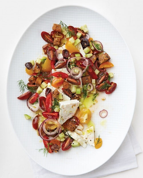 New Greek Salad Recipe