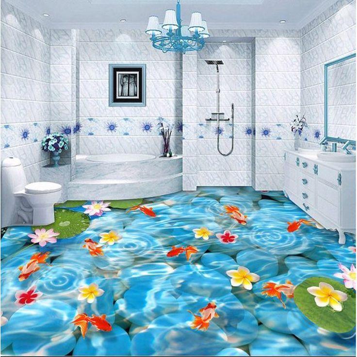 Mejores 20 im genes de 3d wallpaper and floors en for Papel pintado suelo