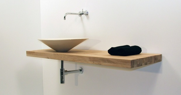 Give your bath room personality with a handmade sink