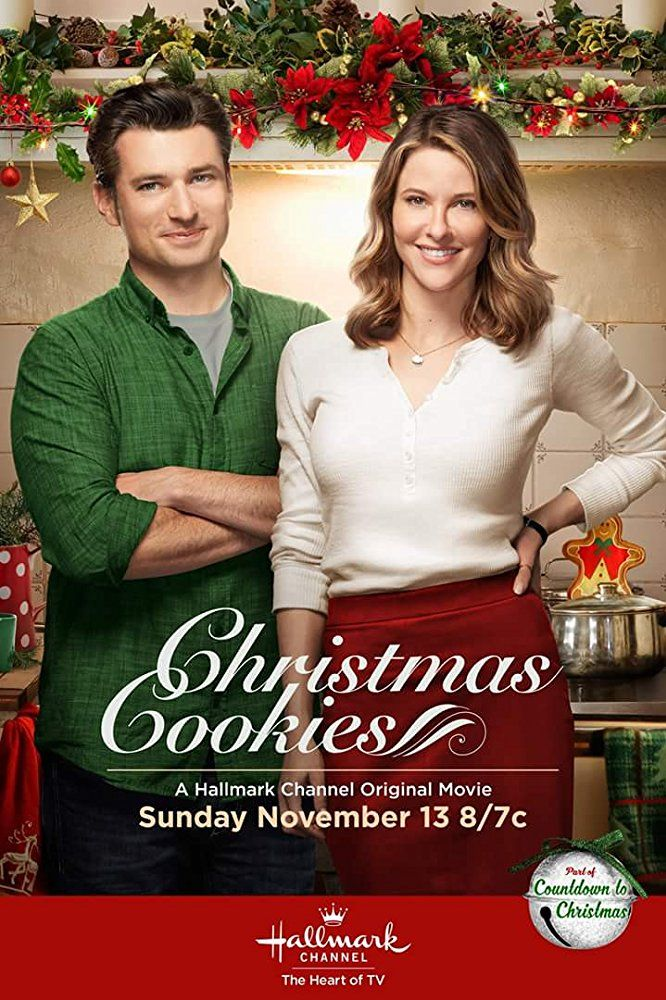 Christmas Cookies (2016) Jill Wagner stars in this Hallmark Christmas movie as an executive in town to buy up a cookie business, but she doesn't count on falling in love