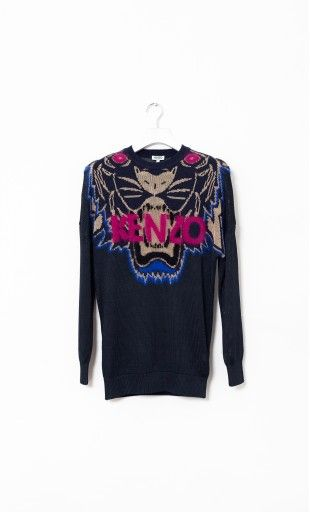 Kenzo Tiger Long Sweater  SPOONITALY OFFICIAL WEBSITE