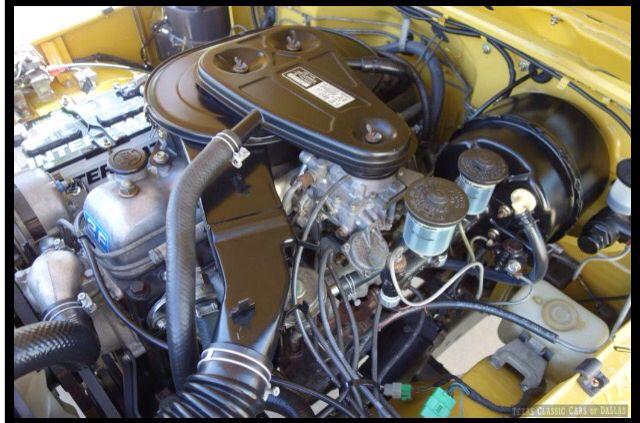 Lift Kits For Jeeps >> Restored Bonnet - Engine Bay 1976 US Market FJ40 2F ...
